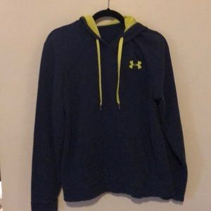 Under Armour blue and green Hoodie